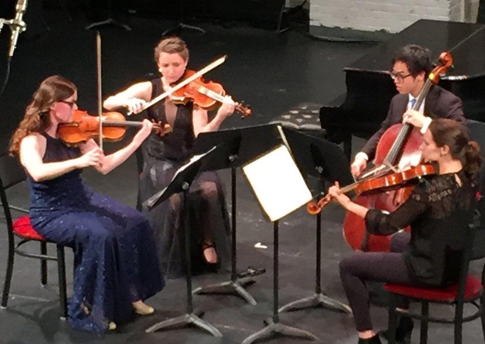 CMI students in concert, 2017