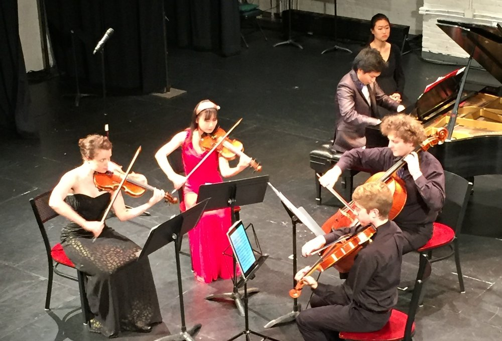 CMI students in concert, 2017