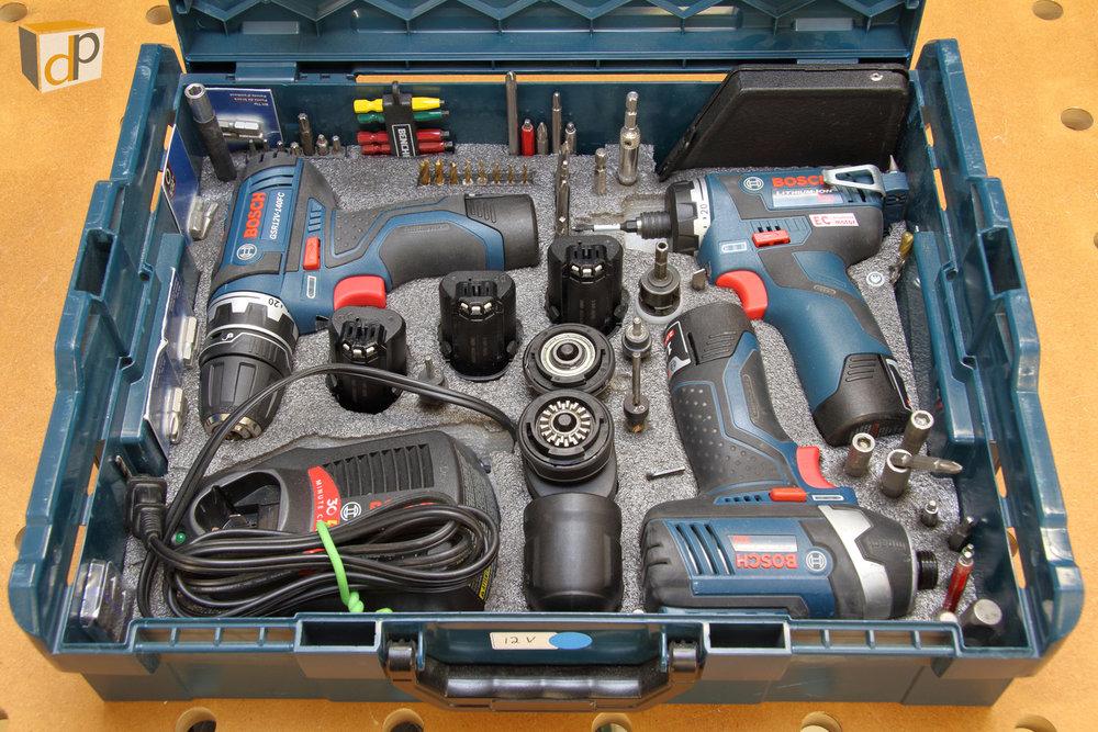 Flexiclick Set Up in a Bosch L-Boxx2