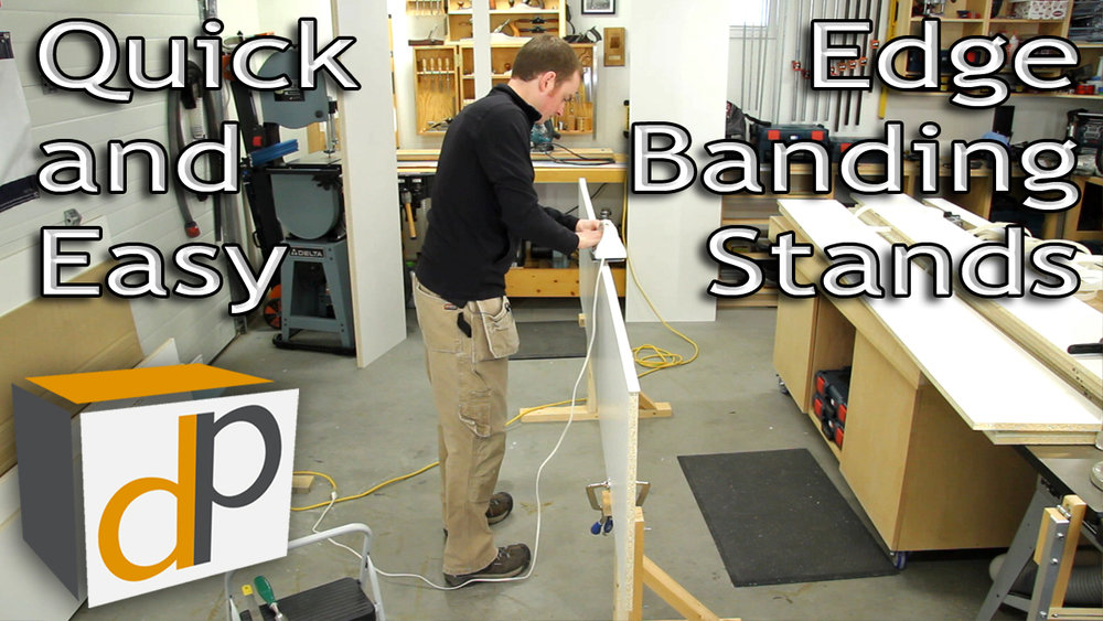 Iron-On Edge Banding Stands - Make Banding a Quick & Easy Process