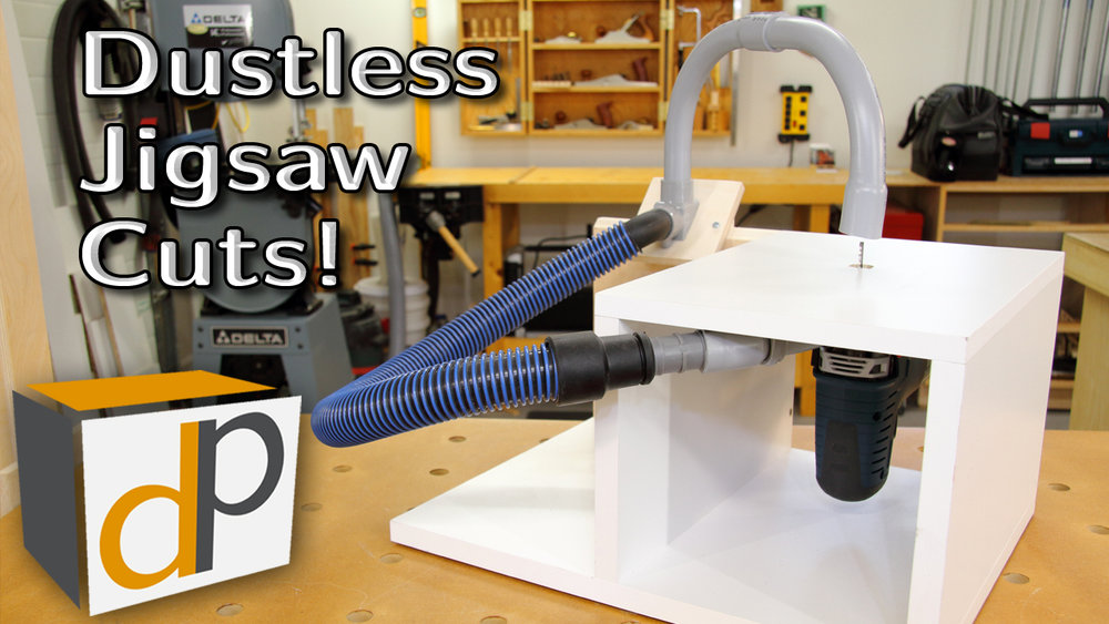 Dustless Jigsaw Table - Easy Cuts and Zero Dust!