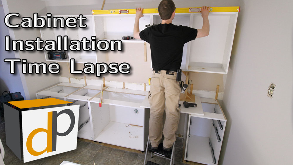 Kitchen Cabinet Box Installation Time Lapse