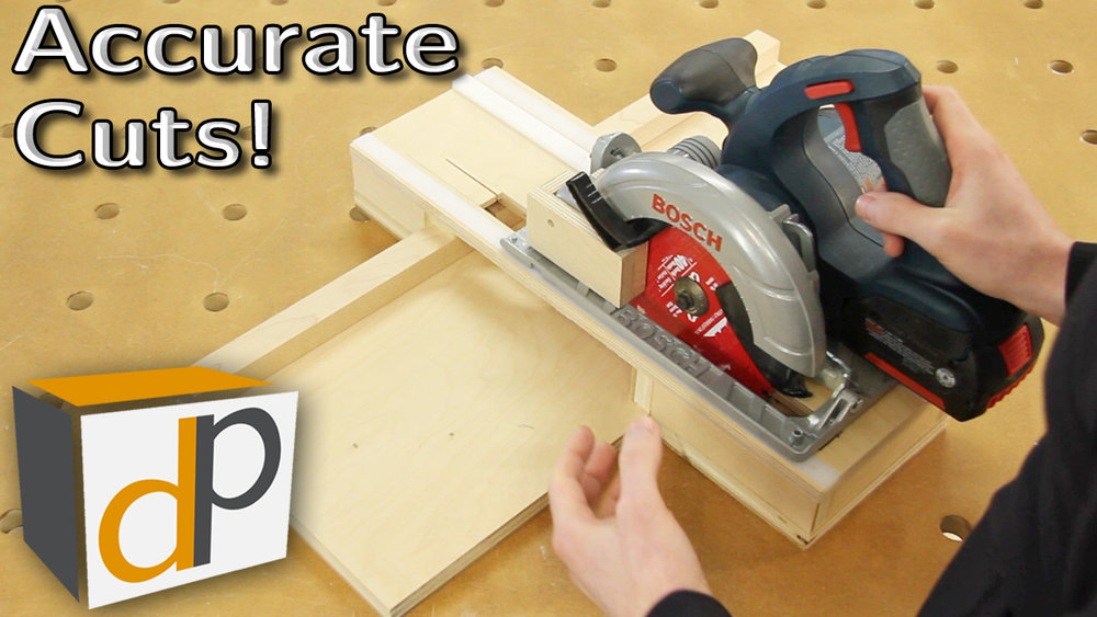 Circular Saw Cross-Cut Jig - Accurate & Dustless - Pt1