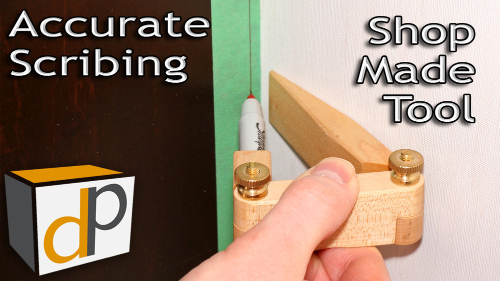 How to Scribe with a Shop-Made Scribe Tool - Free Plans!
