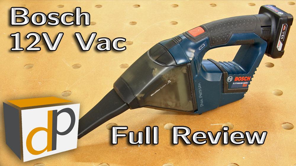 Bosch 12V Cordless Vacuum Review - VAC120BN