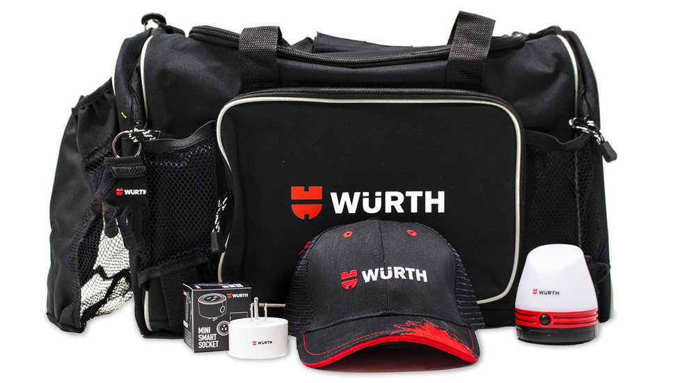 One of Three Wurth Prize Packages