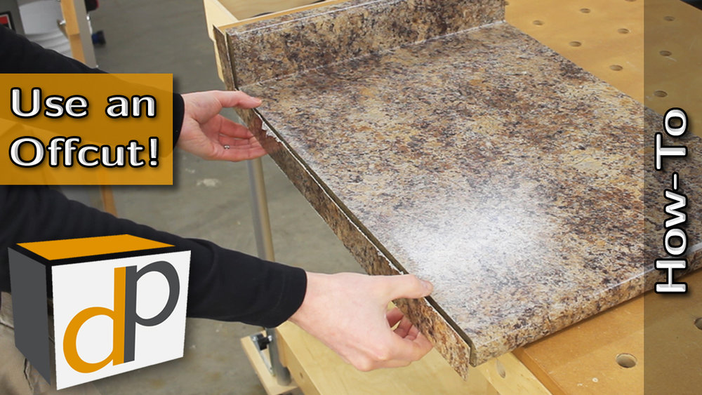 How To MAKE and Install a Countertop End Cap