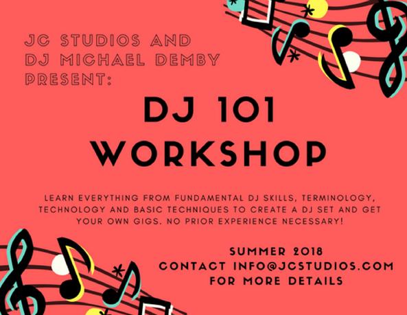 DJ Classes Jersey City, New Jersey