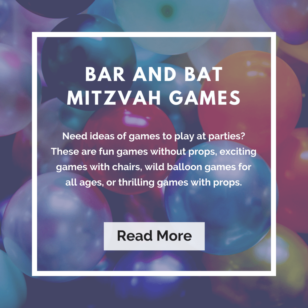 Bar and Bat Mitzvah Games