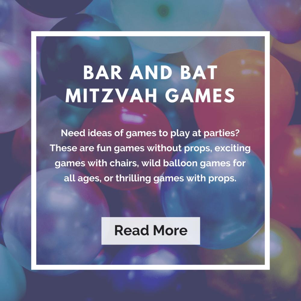 Bar and Bat Mitzvah Games