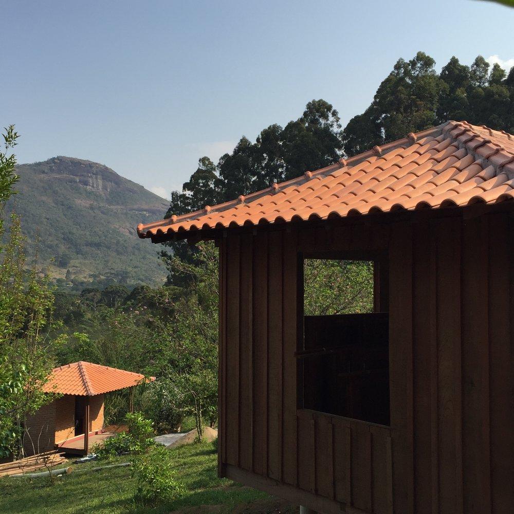Novo quarto e nova sauna com vista pra Pedra do Pinhal