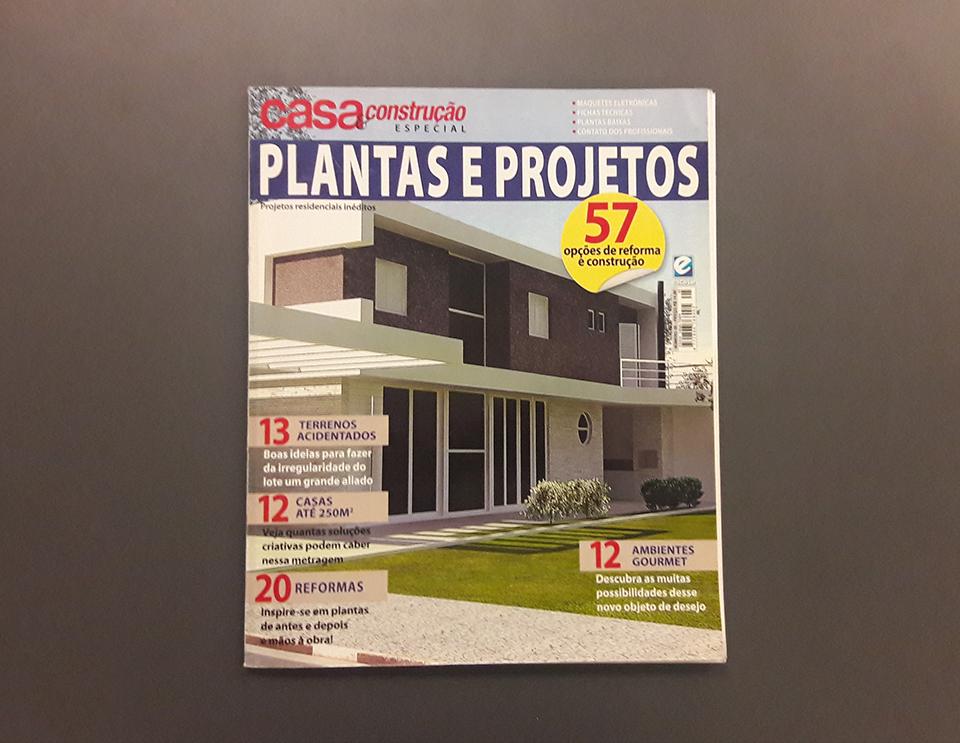 Revista Casa & Construção Especial Plantas e Projetos