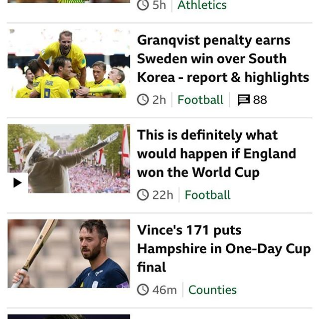 """This is definitely what would happen if England won the World Cup"". https://www.bbc.co.uk/sport/football/44515740  CGI (Queen & White Cliffs of Dier) 