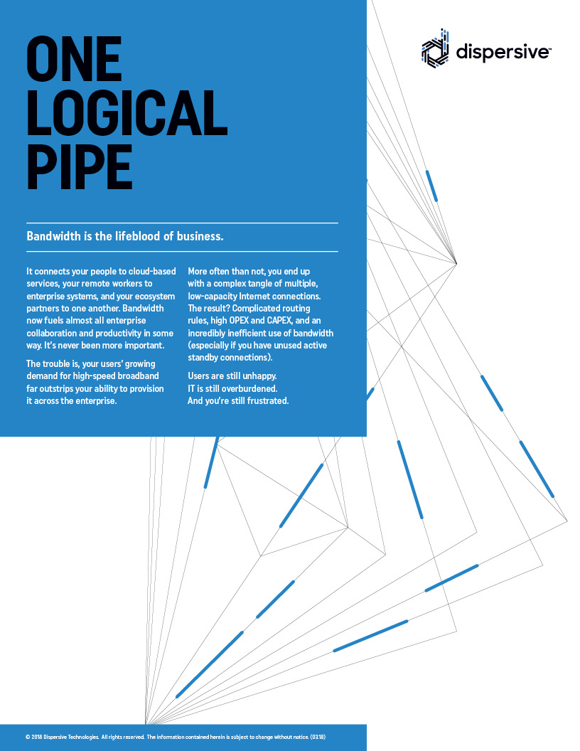 Solution Overview: One Logical Pipe