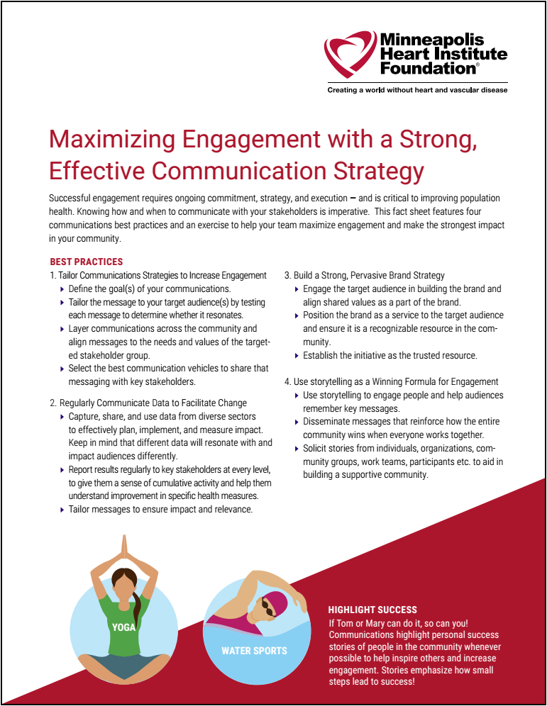 Communications Strategy +Exercise