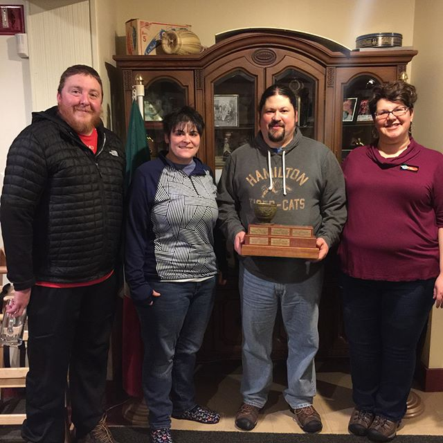 The @newenglandpatriotsoffical may have lost the #superbowl but the New England Patriots of Vermont Curling 🥌 won 🏆🍾it all at the 6th annual VERspiel. #vermont #rutvt #rutland #curling #goodcurling #curl802 #bonspiel