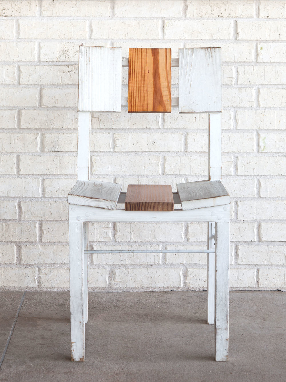 McCray & Co. - St. Philip - Custom Patio Side Chair, Front View