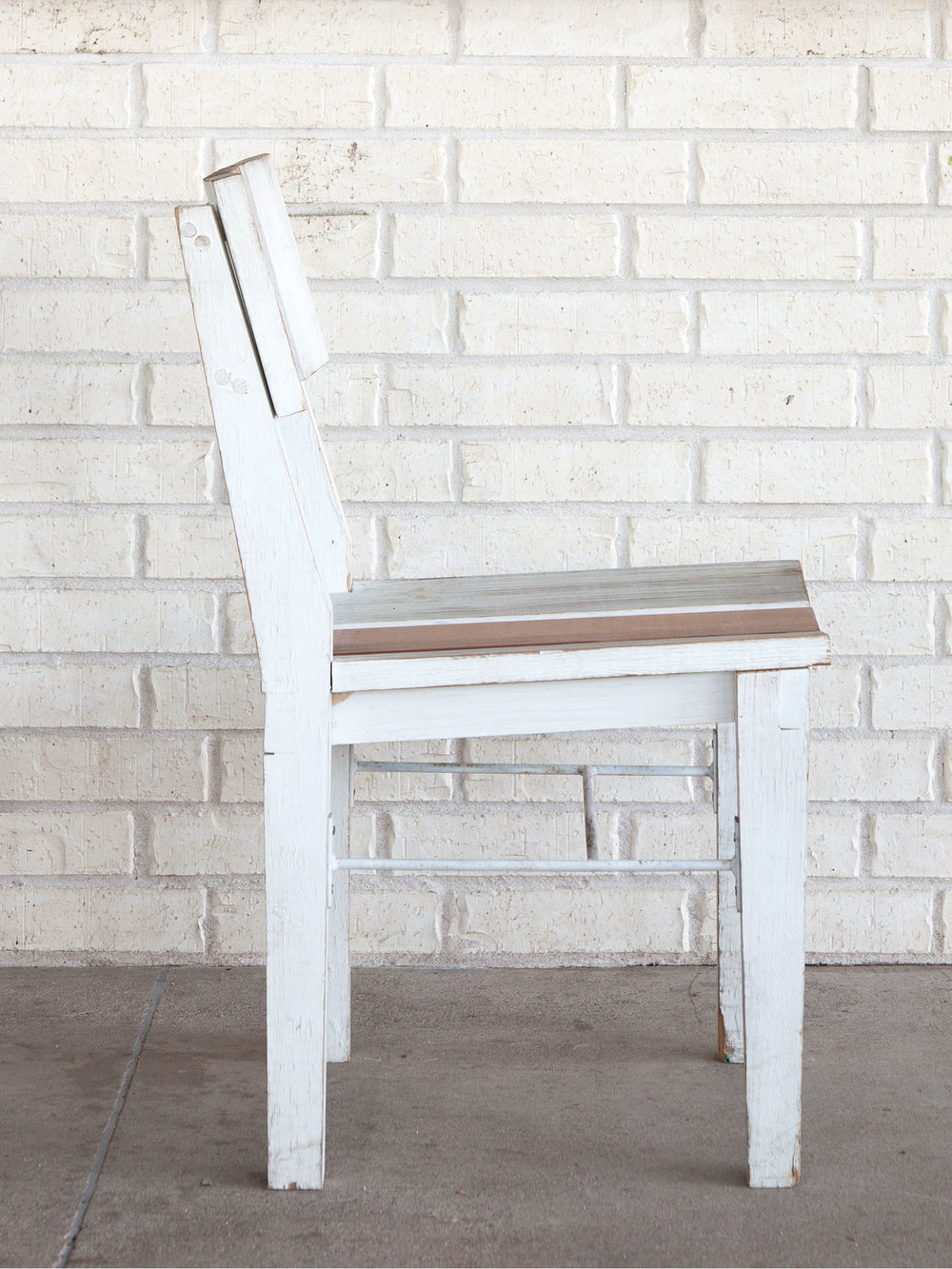 McCray & Co. - St. Philip - Custom Patio Side Chair, Side View