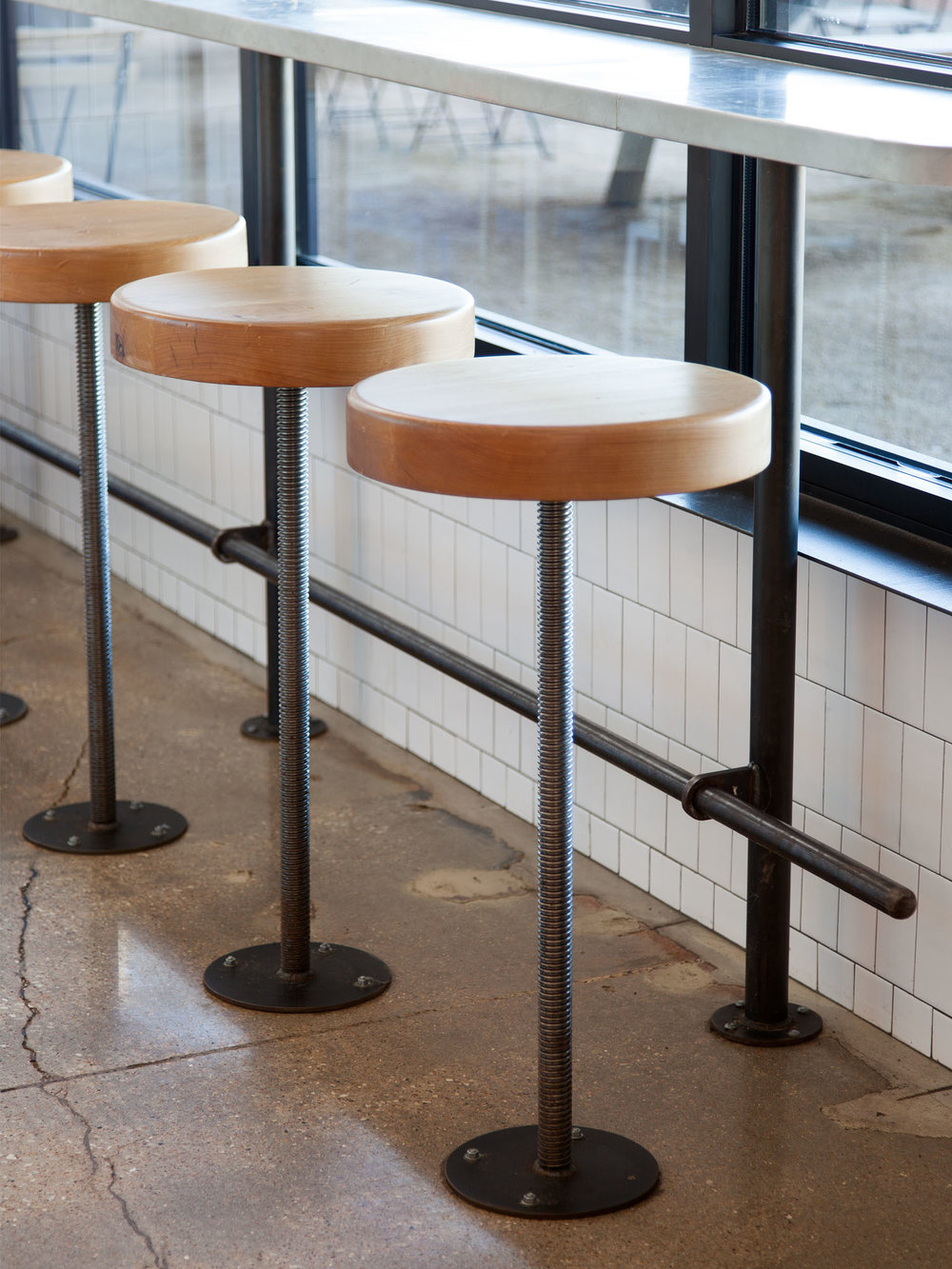 McCray & Co. - St. Philip - Custom Bake Shop Stools