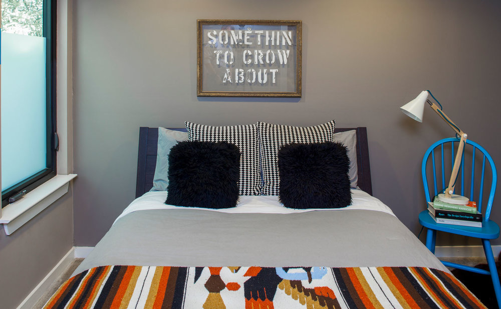 McCray & Co. - Austin Airbnb - Double Bedroom Detail
