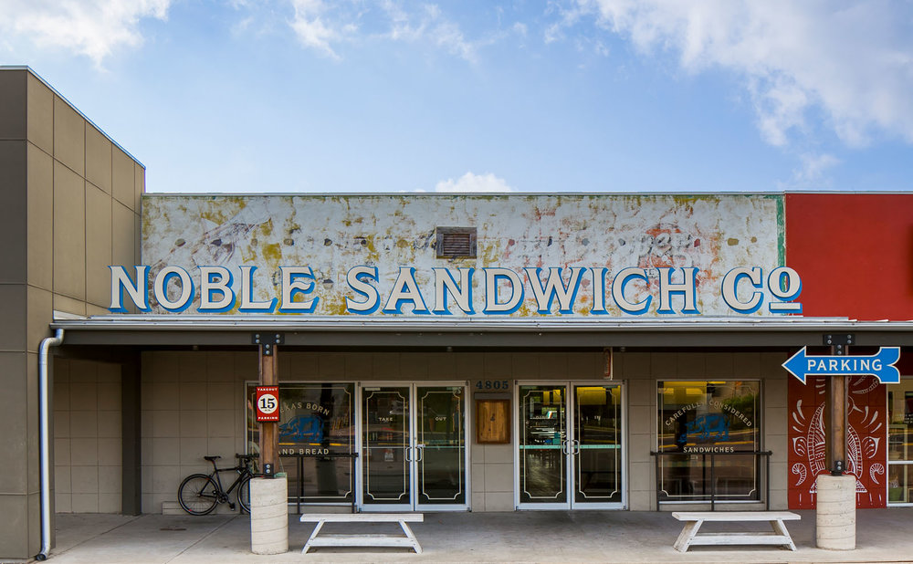 McCray & Co. - The Noble Sandwich Co. - Exterior