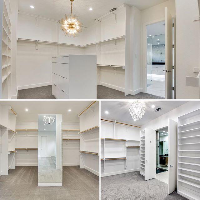 What does your dream closet look like? #buildersofig #homebuilding #theavantgroup #closetgoals