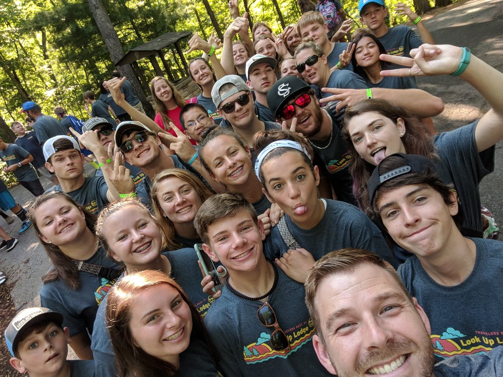 Look Up lodge 2018 summer trip