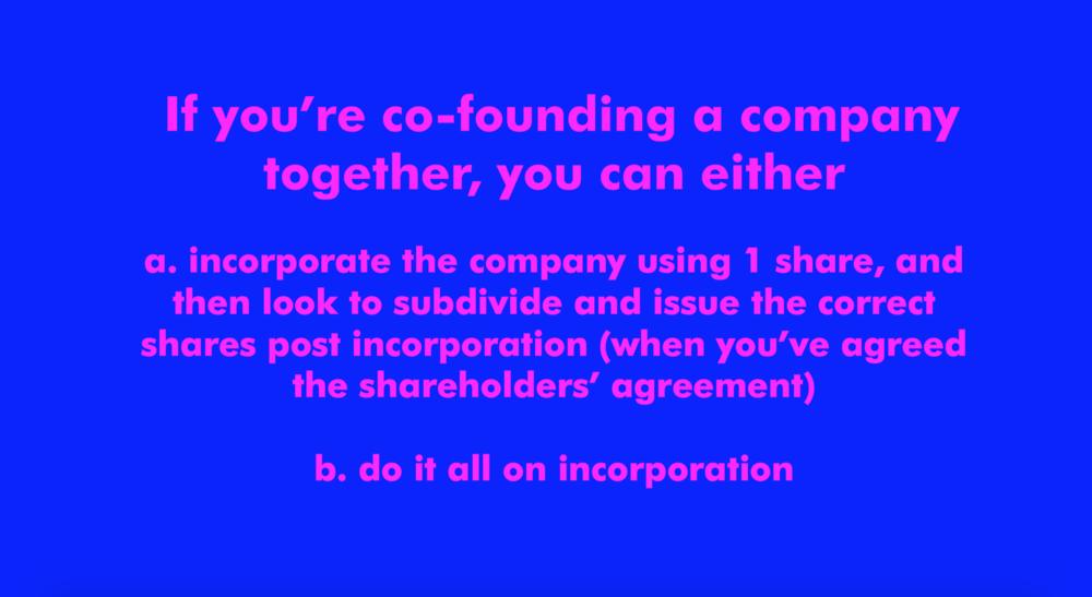 FutureGirlCorp | Incorporating Your Company