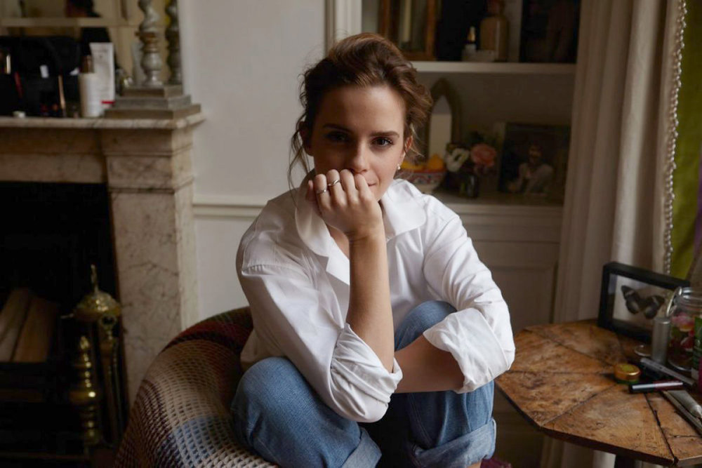 Emma Watson photographed by Olivia Richardson