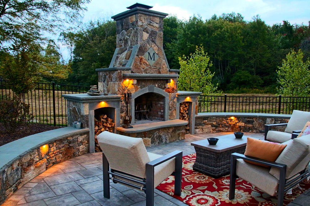 Stonefire Masonry | Stone Fireplaces | Landscape Construction | Westborough
