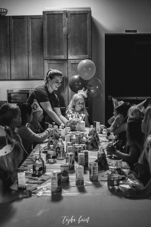 Day 6: Chloe's Birthday Celebration at Aurora Kids Gynmastics