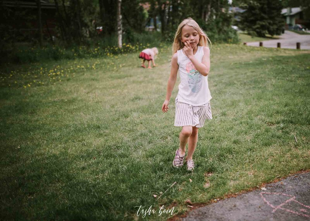 Dandelions for mommy -