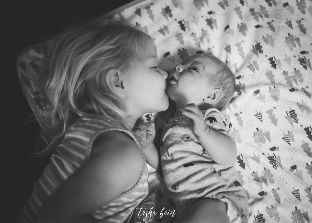Day 18: Sibling love!