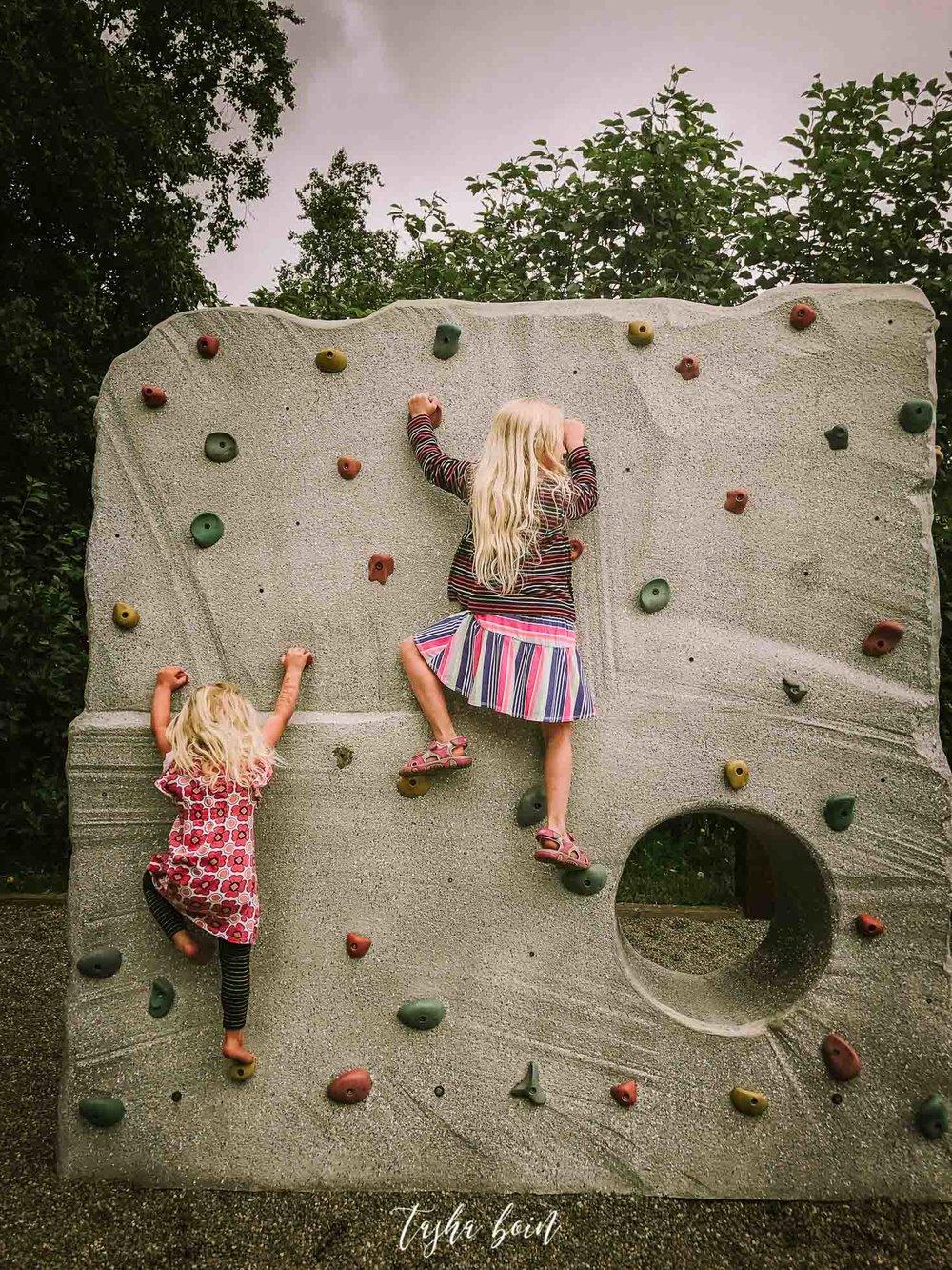 Day 22: Rock climbing