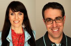 L to R: Brenna Sanchez, Tom Putnam