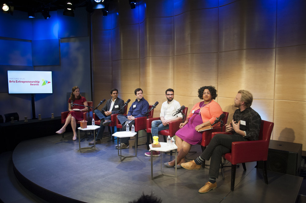 May 11, 2016 - Creative to the Core: 2016 Arts Entrepreneurship Awardees Panel