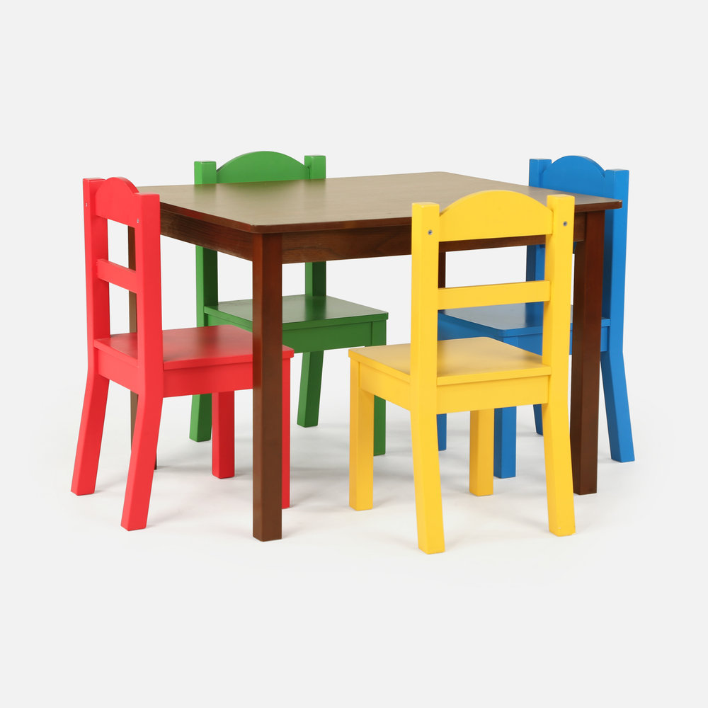 - Wood Table & Chair Sets