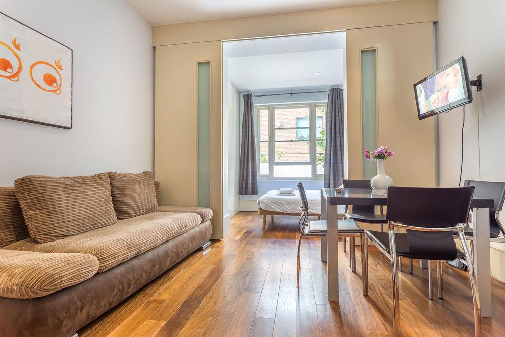 Collingham Place Studio Apartment