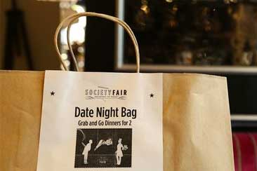 DATE NIGHT BAG - We make Friday nights easy! $49 for a complete dinner for two, dessert and wine included! Ready for pick up on Friday.