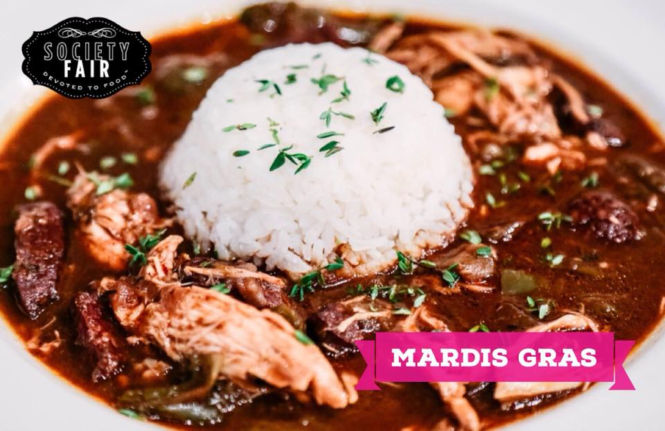 Mardis Gras in the Bistro - Laissez les bon temps rouler! Join us on Mardis Gras (Tues, Feb 13) for Fat Tuesday-inspired cocktails and New Orleans fare, including beignets, gumbo, crawfish Monica, and Zydeco music in the Bistro!