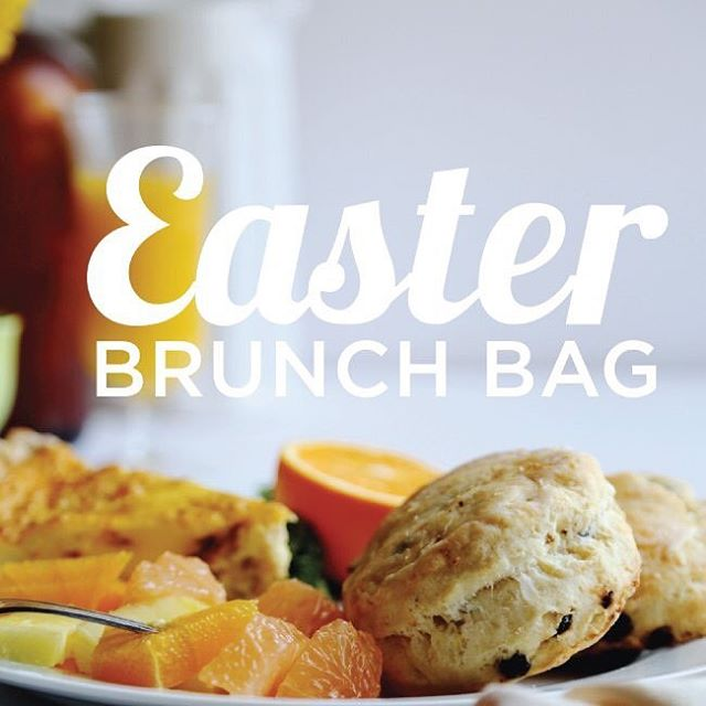 #Easter is just around the corner, Fair friends! Order your #brunch bag to go, including Ham & Gruyère quiche, sparkling wine, and ready-to-bake scones with @kerrygoldusa butter & raspberry jam! $65, serves 4! store.societyfair.net