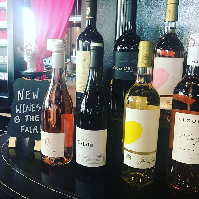 New wines at the fair! Come Sip in Spring with us.
