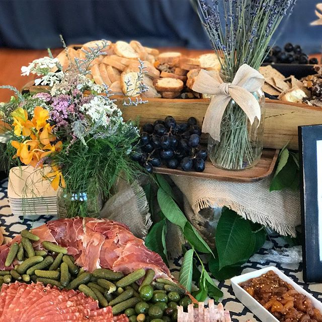 "It's party season! When you need the perfect spread of tastiness...The Fair has ""fairies"" who get the job done beautifully! Artisanal bread, cheese and charcuterie. (Herbs, flowers and all the good stuff) Catering@society fair.net -"