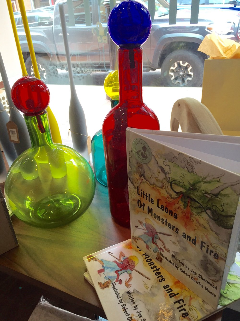 My book shown at Home by Johker Design in downtown Annapolis.