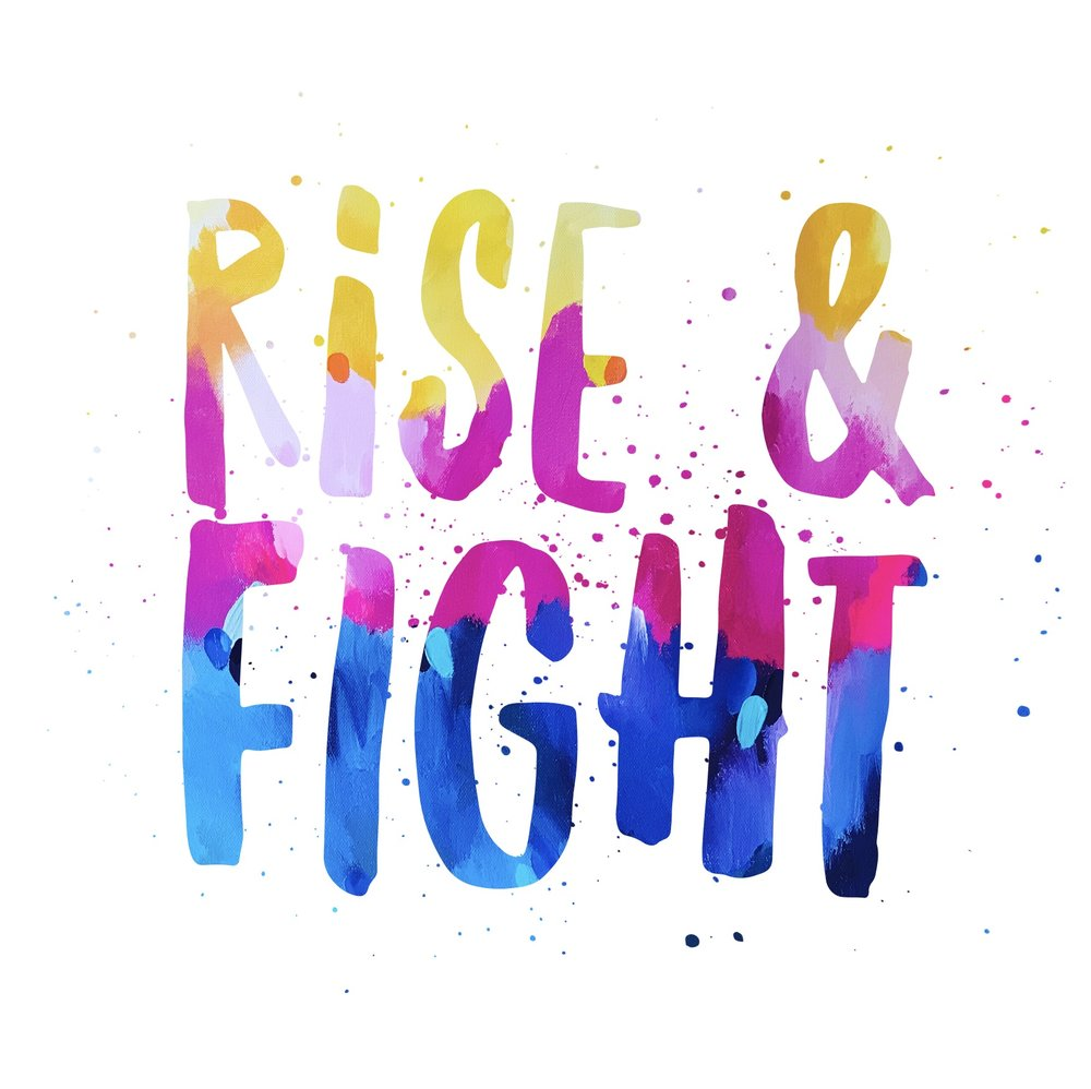 Taylor Lee Paints :: Rise and Fight