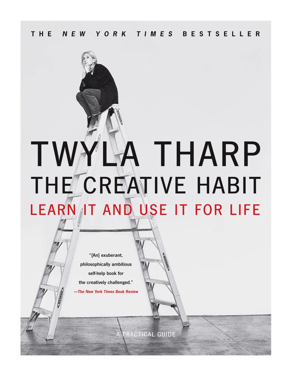 TaylorLeePaints_TwylaTharpBookTheCreativeHabit