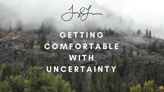 Taylor Lee Paints :: Blog Getting Comfortable with Uncertainty