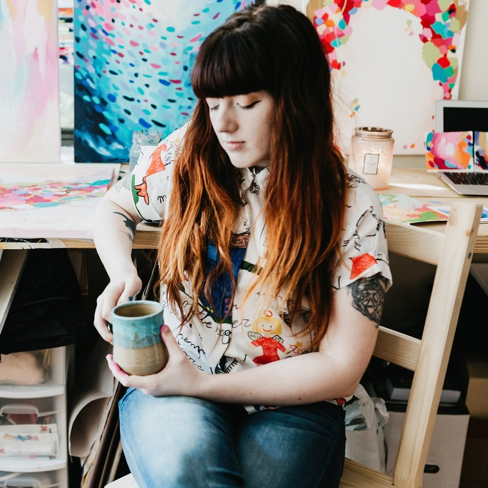Taylor Lee Paints :: Artist in the studio