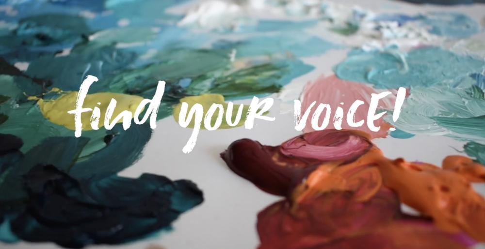 Taylor Lee Paints :: Find Your Voice Vlog Series Episode 2