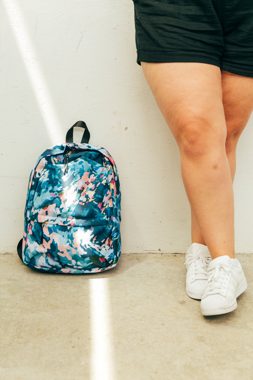 Taylor Lee Paints :: Original Design Ocracoke Island Backpack